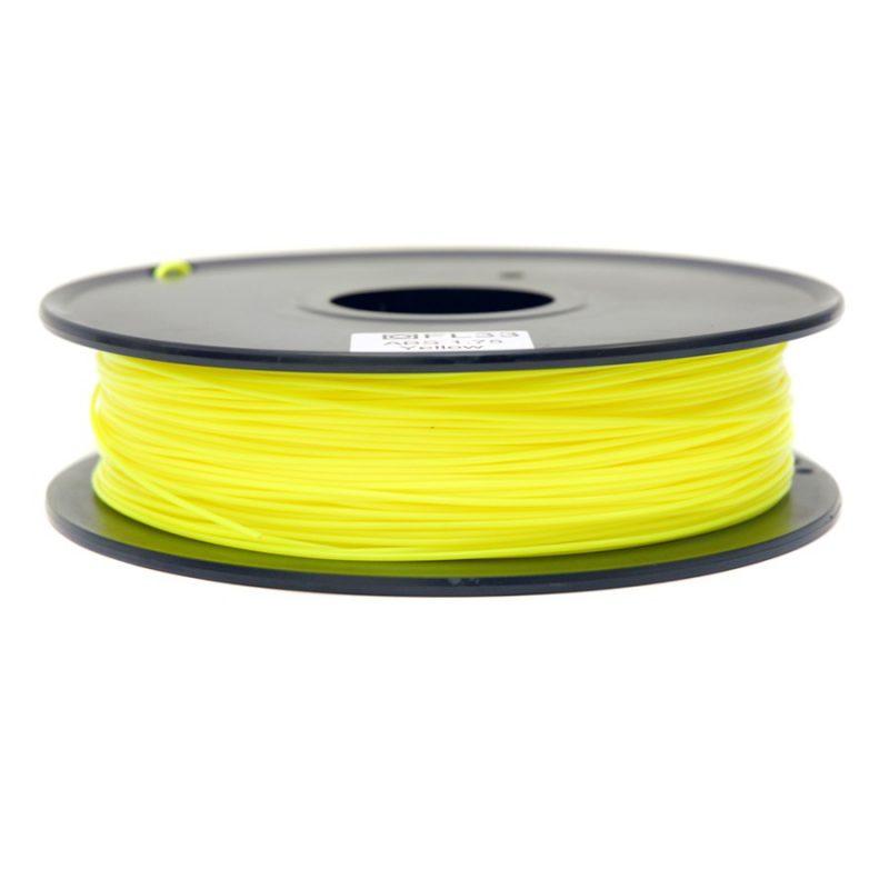 Фото PLA пластик FL33 0.5 кг желтый