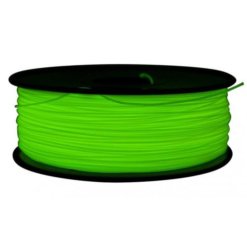 Фото PLA пластик FL33 1 кг флуоресцентный зеленый