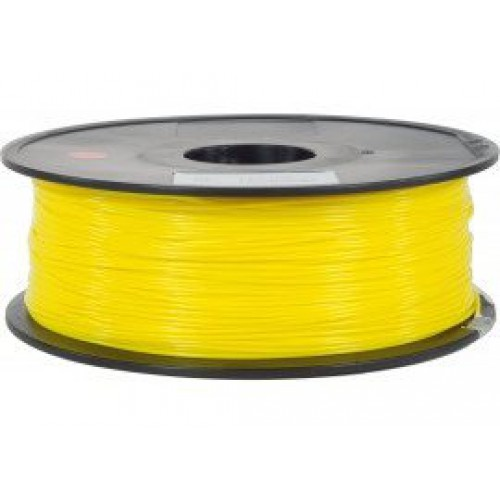 Фото PLA пластик FL33 1 кг флуоресцентный желтый