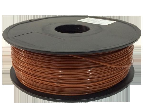 Фото PLA пластик FL33 1 кг коричневый