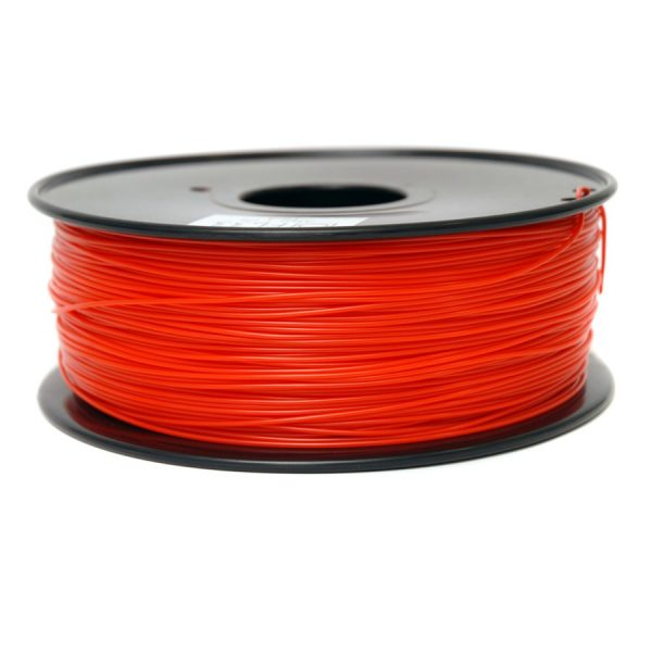 Фото PLA пластик FL33 1 кг красный прозрачный