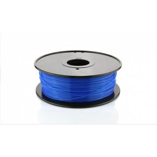 Фото PLA пластик FL33 1 кг светящийся синий