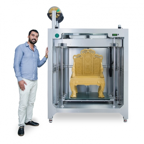 Фото 3D принтер High Speed 3D Printer-Dragon (XL)