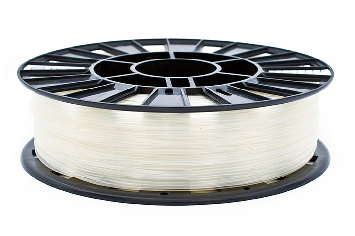 Фото FRICTION пластик REC 1.75 мм, 0,5 кг прозрачный