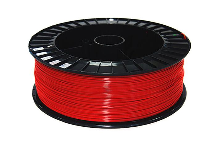 Фото RELAX пластик REC 1.75 мм, 2 кг красный