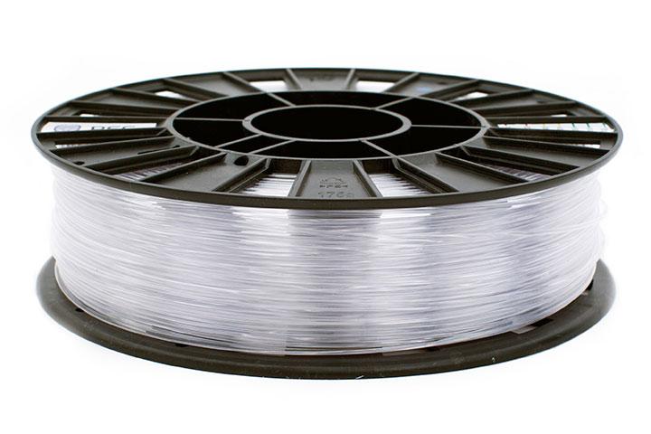Фото RELAX пластик REC 1.75 мм, 750 гр прозрачный