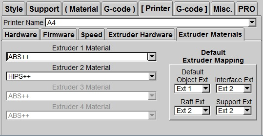 Фото extruder-material