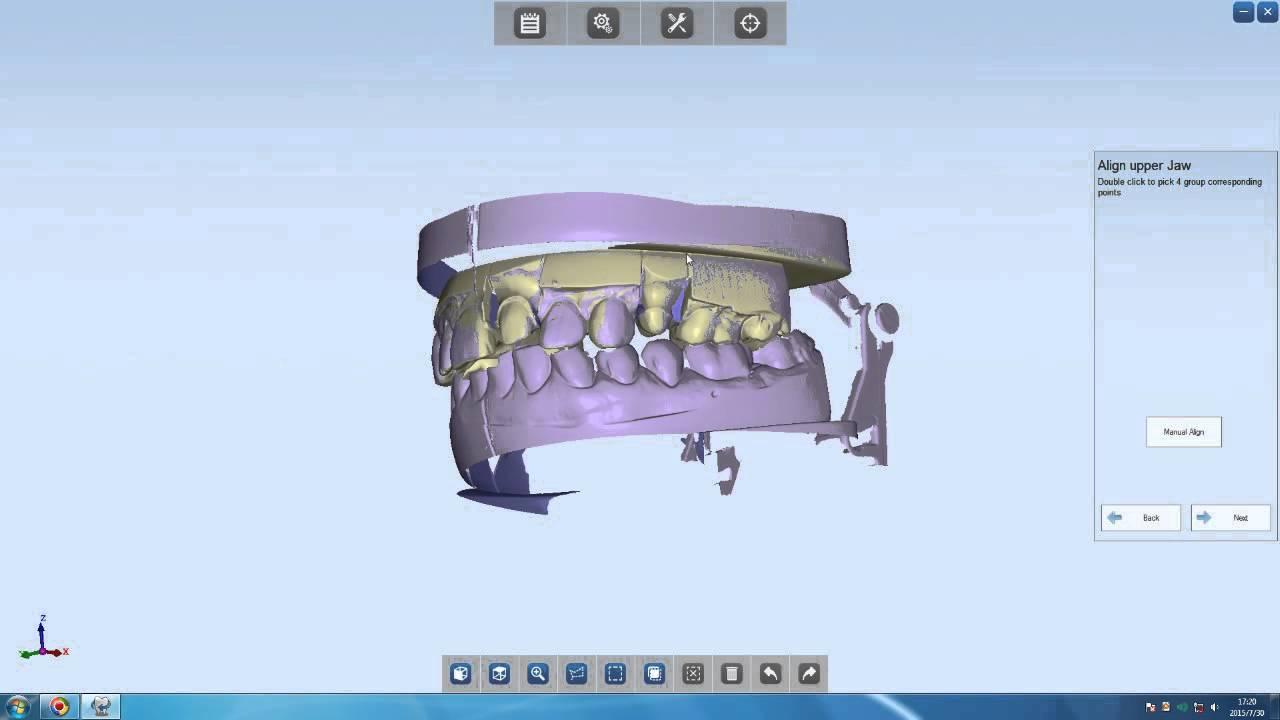 Фото модель, отсканированная на 3D сканере Shining 3D AutoScan DS-EX 3