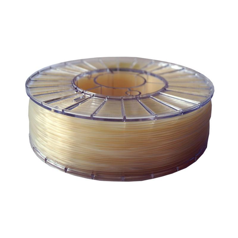 Фото нити для 3D-принтера PLA пластик 1,75 Экофил Стримпласт прозрачный