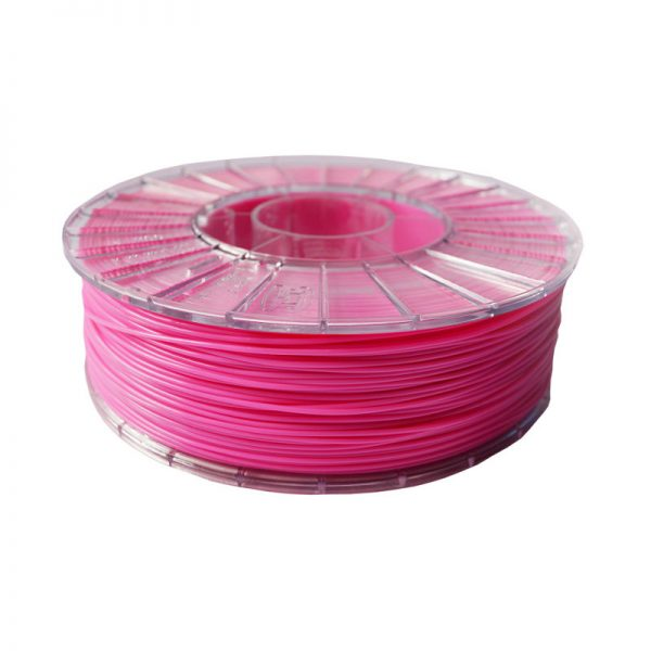 Фото нити для 3D-принтера PLA пластик 1,75 Экофил Стримпласт розовый
