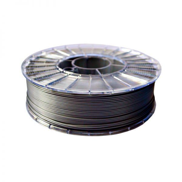 Фото нити для 3D-принтера PLA пластик 1,75 Экофил Стримпласт серебристо-серый