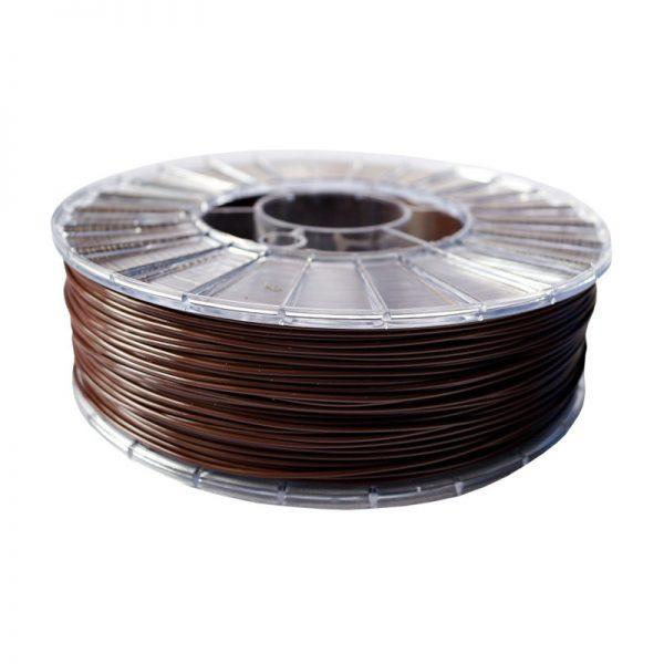 Фото нити для 3D-принтера PLA пластик 1,75 Экофил Стримпласт шоколадный