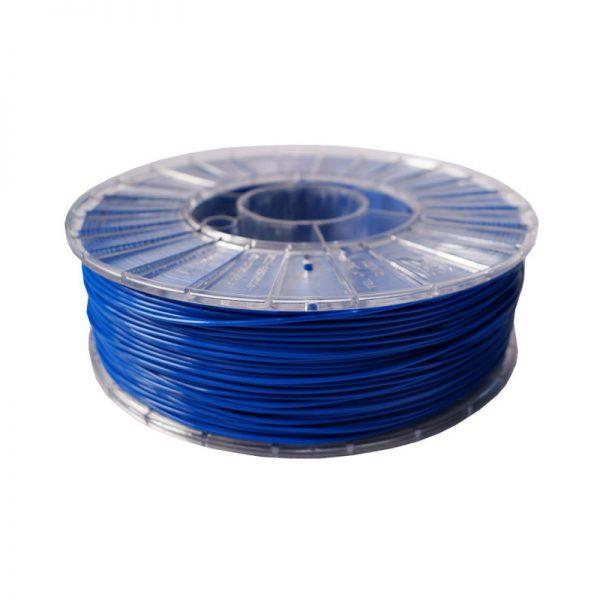 Фото нити для 3D-принтера PLA пластик 1,75 Экофил Стримпласт синий