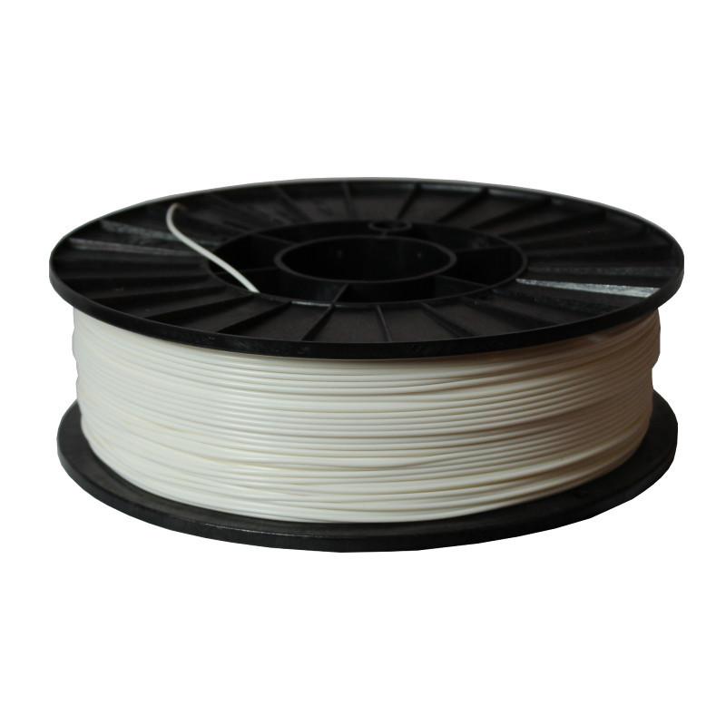 Фото нити для 3D-принтера ABS + пластик 1,75 Стримпласт белый