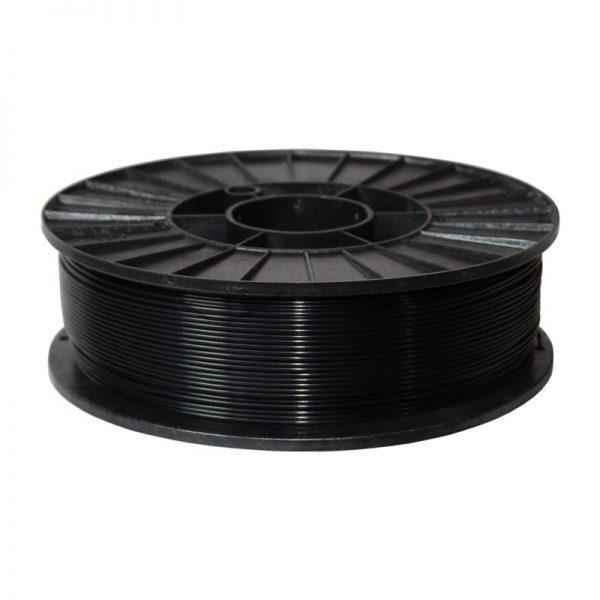 Фото нити для 3D-принтера ABS + пластик 1,75 Стримпласт черный