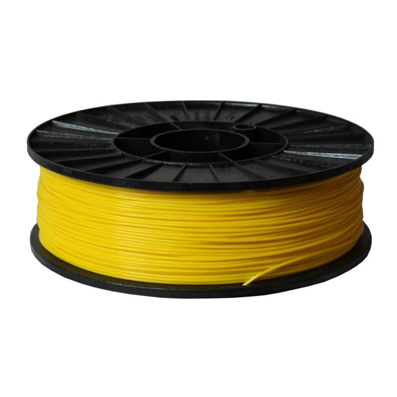 Фото нити для 3D-принтера ABS + пластик 1,75 Стримпласт лимонно-желтый