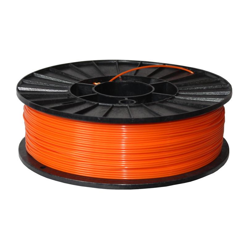 Фото нити для 3D-принтера ABS + пластик 1,75 Стримпласт оранжевый