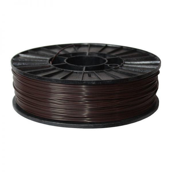 Фото нити для 3D-принтера ABS + пластик 1,75 Стримпласт шоколадный