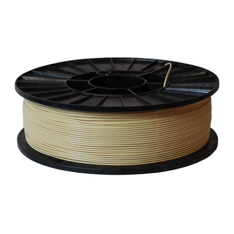 Фото нити для 3D-принтера ABS + пластик 1,75 Стримпласт слоновая кость