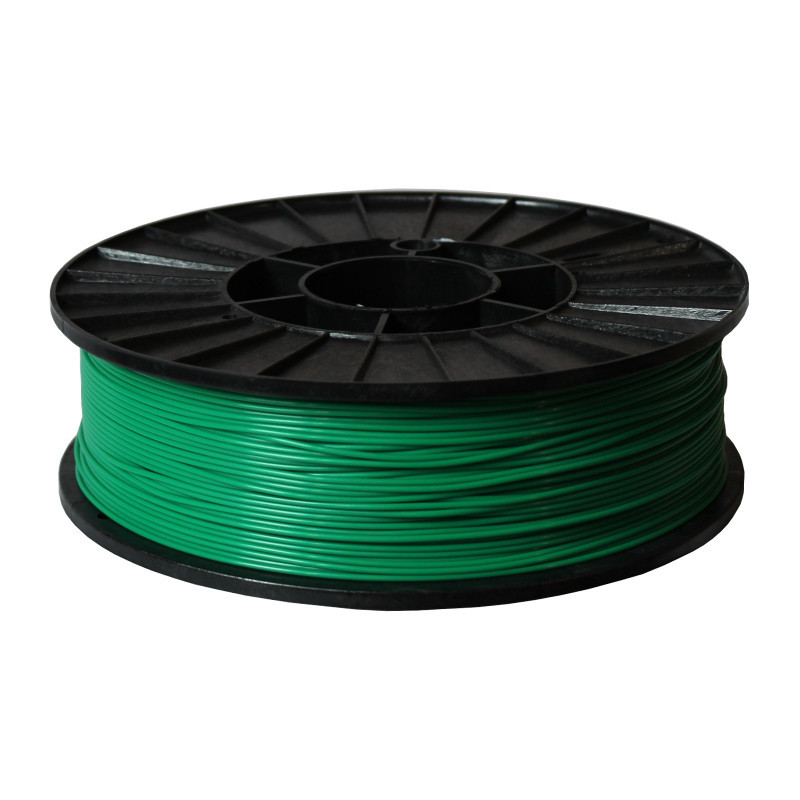 Фото нити для 3D-принтера ABS + пластик 1,75 Стримпласт зеленый