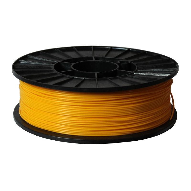 Фото нити для 3D-принтера ABS + пластик 1,75 Стримпласт желтый