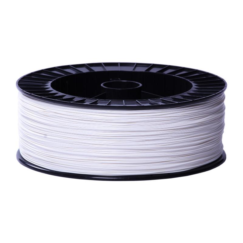Фото нити для 3D-принтера PLA пластик 1,75 Экофил Стримпласт 2 кг белый