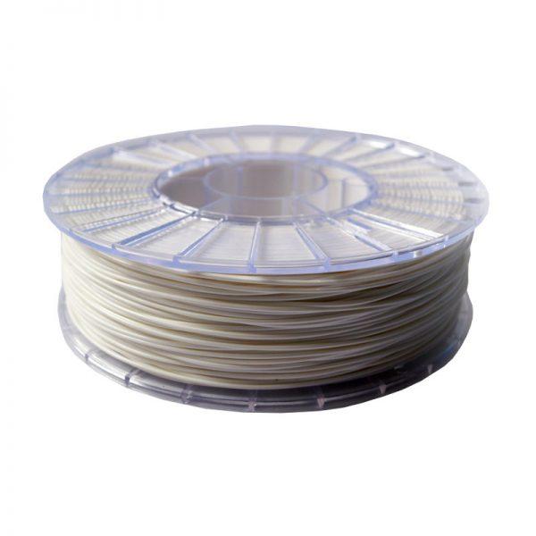 Фото нити для 3D-принтера PLA пластик 1,75 Экофил Стримпласт белый