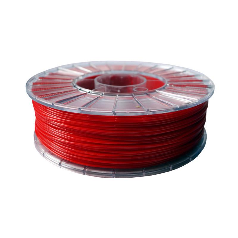 Фото нити для 3D-принтера PLA пластик 1,75 Экофил Стримпласт красный