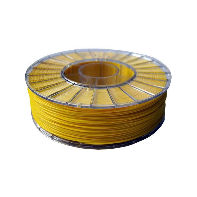 Фото нити для 3D-принтера PLA пластик 1,75 Экофил Стримпласт лимонно-желтый