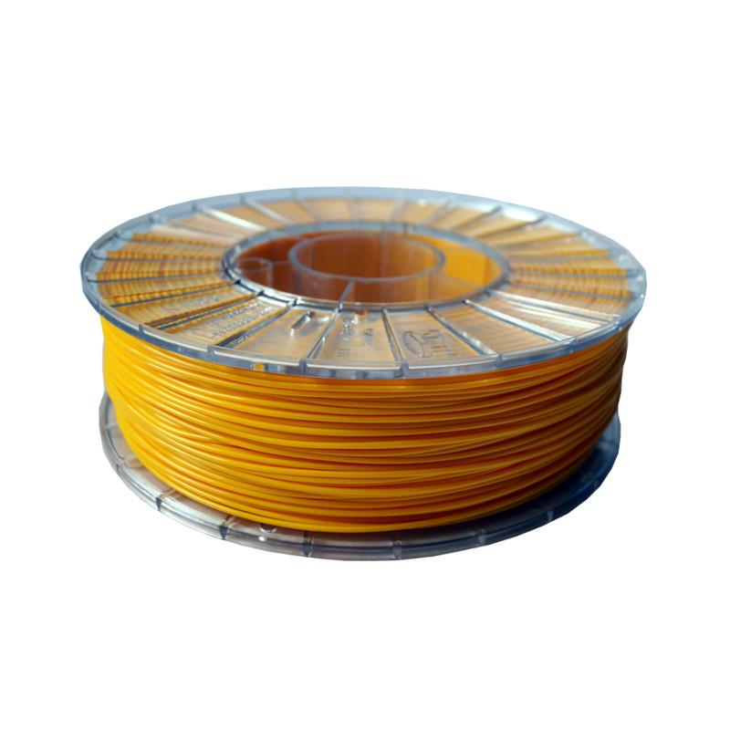 Фото нити для 3D-принтера PLA пластик 1,75 Экофил Стримпласт желтый