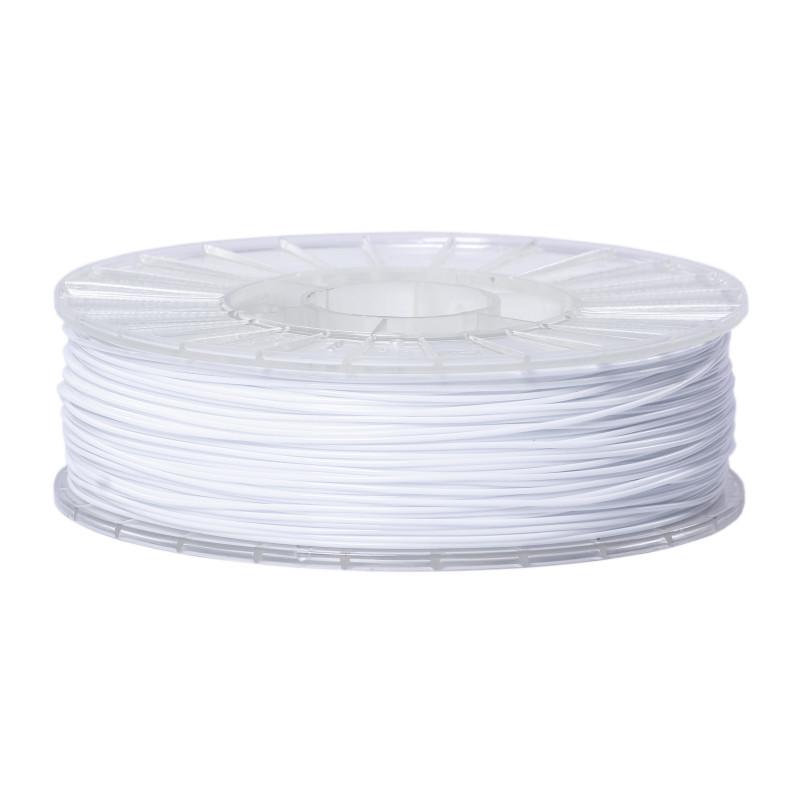 Фото нити для 3D-принтера SBS пластик 1,75 Стримпласт белый
