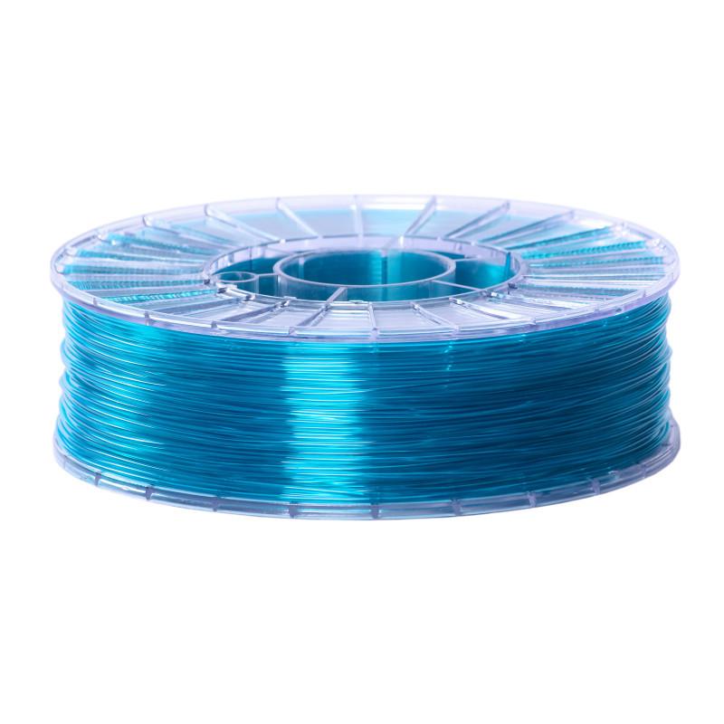 Фото нити для 3D-принтера SBS пластик 1,75 Стримпласт бирюзовый