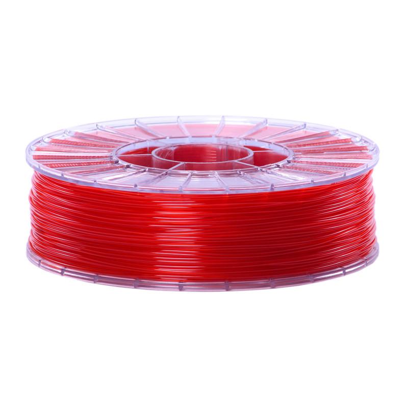 Фото нити для 3D-принтера SBS пластик 1,75 Стримпласт красный