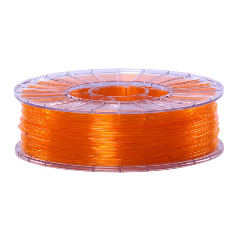 Фото нити для 3D-принтера SBS пластик 1,75 Стримпласт оранжевый