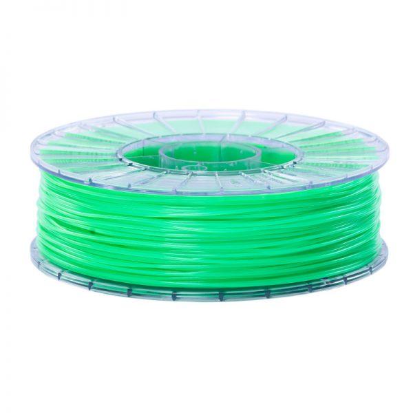 Фото нити для 3D-принтера SBS пластик 1,75 Стримпласт салатовый