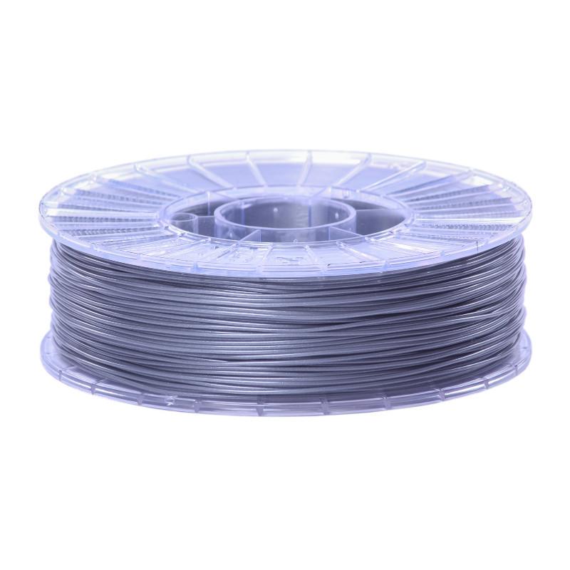 Фото нити для 3D-принтера SBS пластик 1,75 Стримпласт серебристо-серый