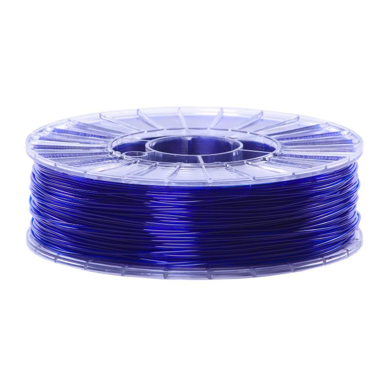 Фото нити для 3D-принтера SBS пластик 1,75 Стримпласт синий