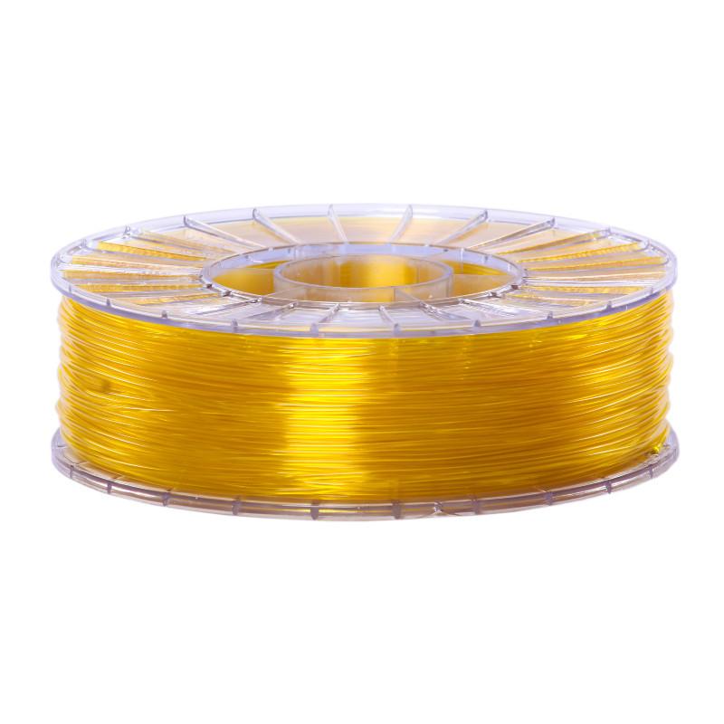 Фото нити для 3D-принтера SBS пластик 1,75 Стримпласт желтый