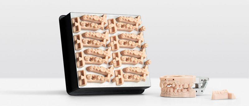 Изображение модели, напечатанной фотополимером Formlabs Dental Model (3)