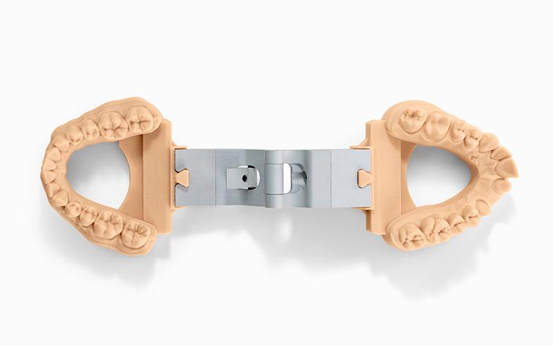 Изображение модели, напечатанной фотополимером Formlabs Dental Model (4)