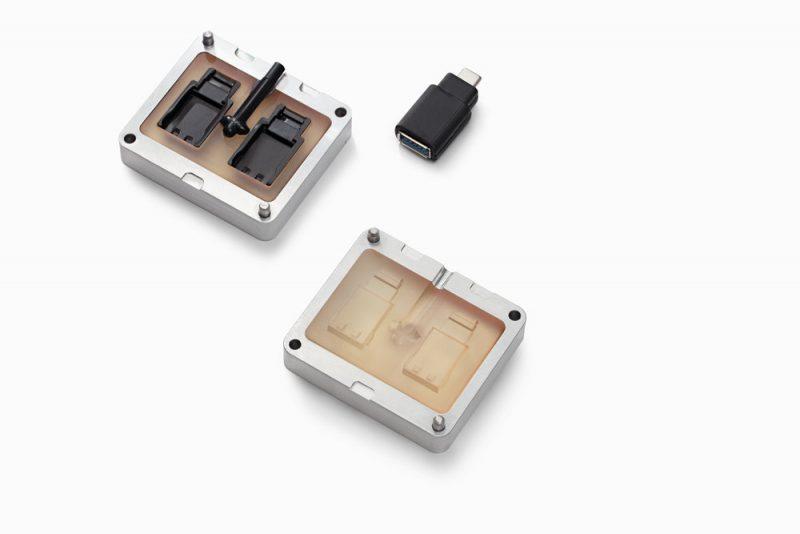 Изображение модели, напечатанной фотополимером Formlabs High Temp Resin (1)