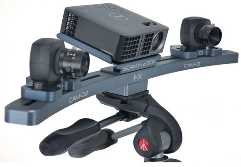 Фото 3D сканера Open Technologies Scan in a Box-FX 1