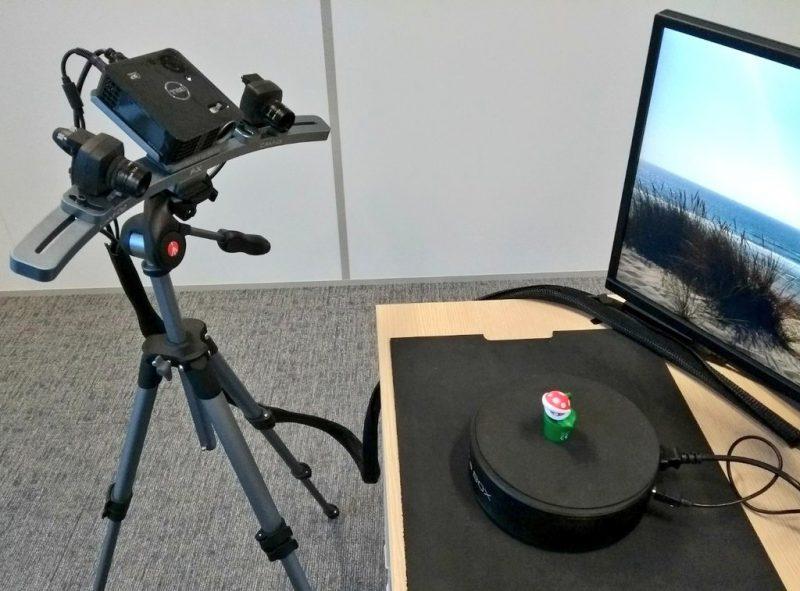 Фото 3D сканера Open Technologies Scan in a Box-FX 4
