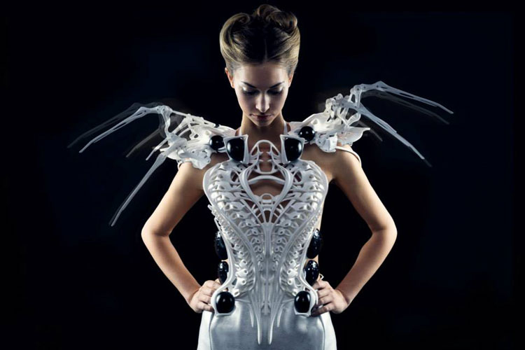 Платье на 3Д принтере