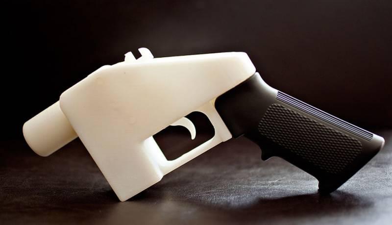 Пистолет на 3Д принтере