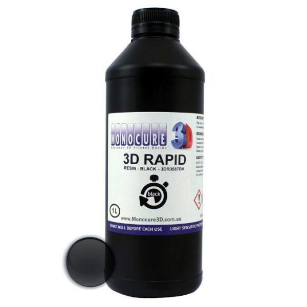 Изображение фотополимера Monocure3D Rapid чёрный (1 л)