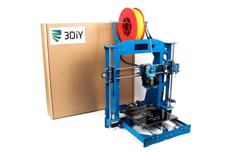 Фото 3D принтера 3DiY (BiZon) Prusa i3 steel 1