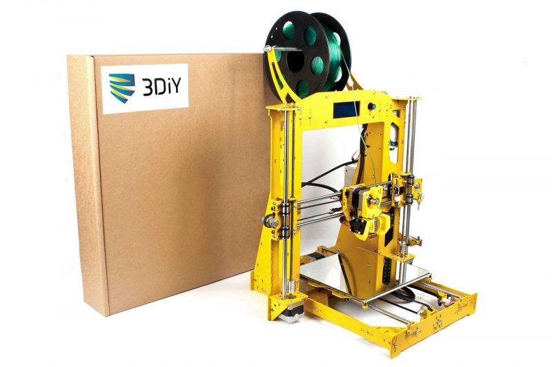 Фото 3D принтера 3DiY (BiZon) Prusa i3 steel 300x300 мм 1