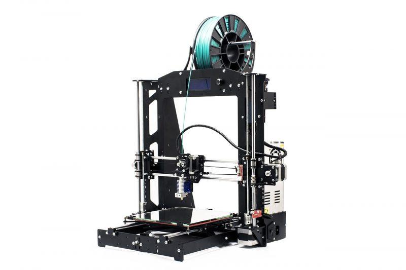 Фото 3D принтера 3DiY (BiZon) Prusa i3 steel 300x300 мм 3