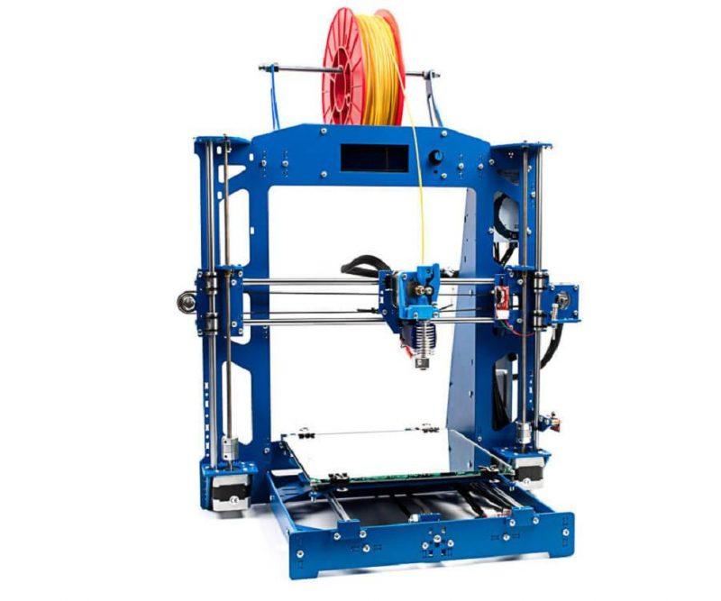 Фото 3D принтера 3DiY (BiZon) Prusa i3 steel 300x300 мм - DIY набор 2